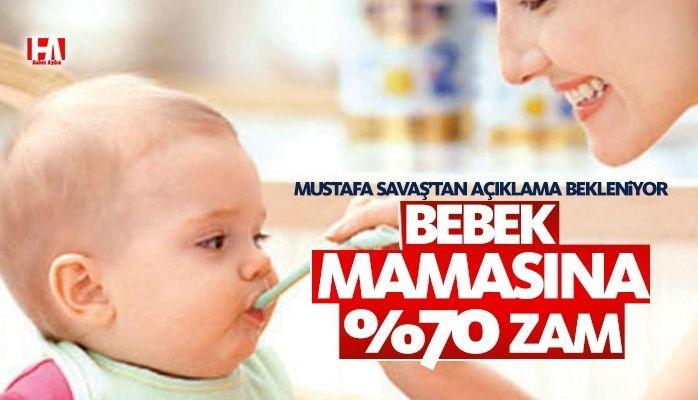 Bebek maması fiyatları uçuyor