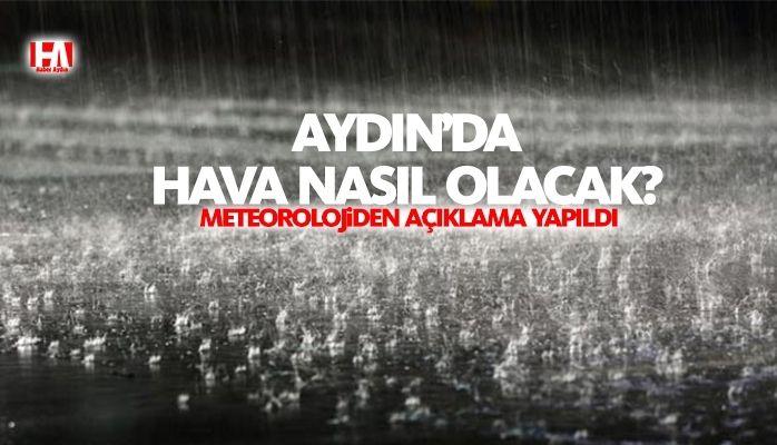Meteorolojiden açıklama yapıldı