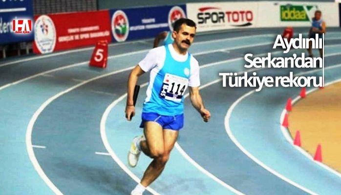 Aydınlı Serkan'dan Türkiye rekoru