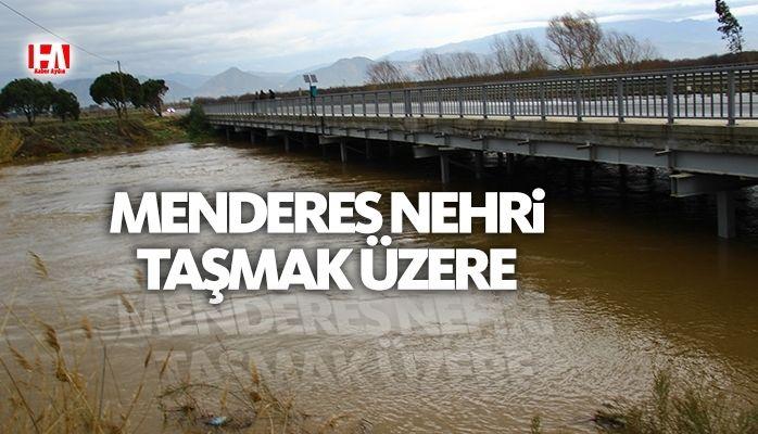 Aydın'da yağışlar taşma noktasına getirdi