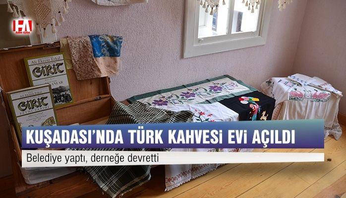 Türk Kahvesi ve Mübadele Evi açıldı