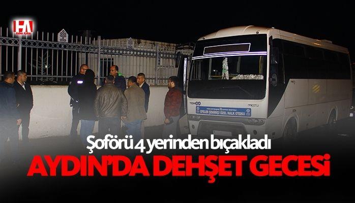 Aydın'da dehşet gecesi