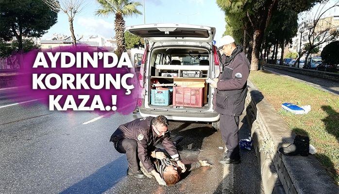 Aydın'da korkunç kaza.. Genç kızın hayati tehlikesi devam ediyor