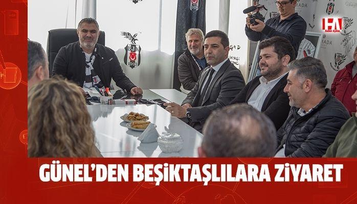 Kuşadası Beşiktaşlılar Derneği ziyareti