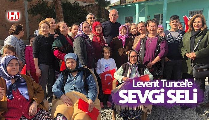 LEVENT TUNCEL'E SEVGİ SELİ