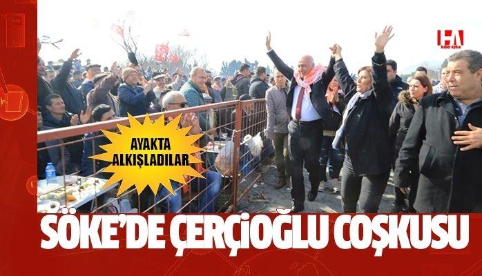 Söke'de Güreşseverlerden Başkan Çerçioğlu'na Tam Destek