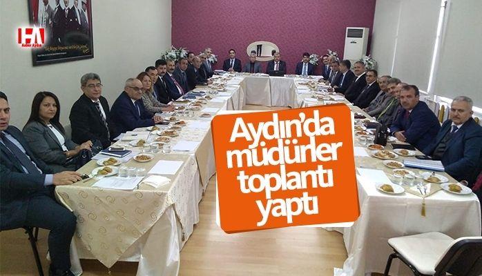 Aydın'da müdürler toplandı