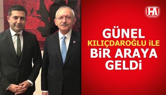 Günel, Kılıçdaroğlu ile bir araya geldi