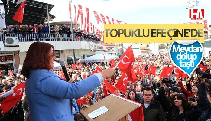 Başkan Çerçioğlu'ndan Miting Gibi Açılış