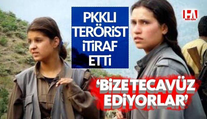PKKlı terörist itiraf etti