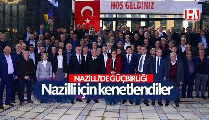 Nazilli'de Güçbirliği