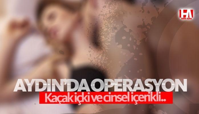 Aydın'da operasyon.. Cinsel içerikli..
