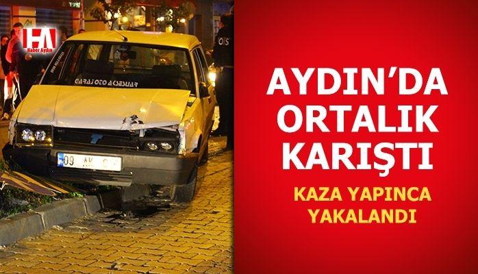 Aydın'da ortalık karıştı.. Polisleri peşine taktı