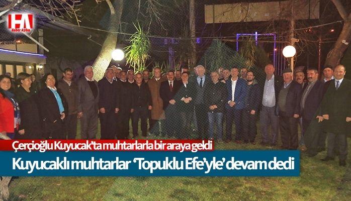 Muhtarlar Topuklu Efe'yle birlikte