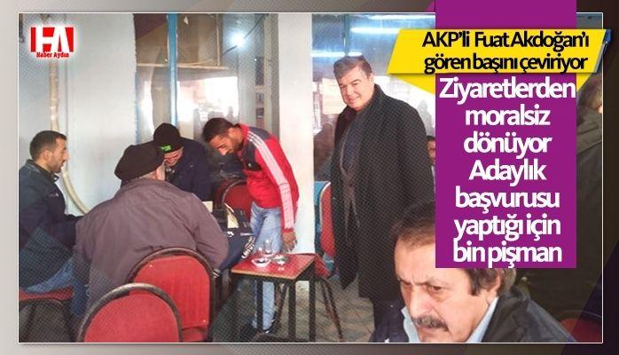 AKP'li Fuat Akdoğan adaylık başvurusu yaptığı için bin pişman