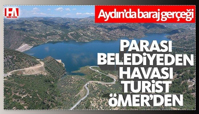 İşte Aydın'da baraj gerçeği.. Büyükşehir kuruşu kuruşuna ödüyor