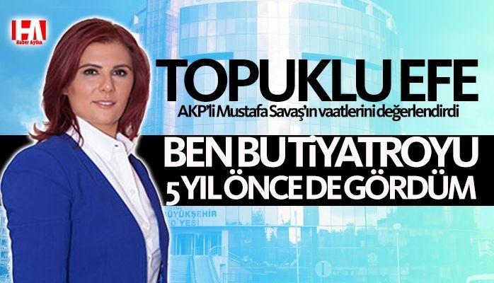 """Başkan Çerçioğlu : """"Ben bu tiyatroyu 5 yıl önce de görmüştüm"""""""