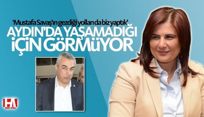 """Çerçioğlu : """"Aydın'da yaşamadığından haberi yok"""""""