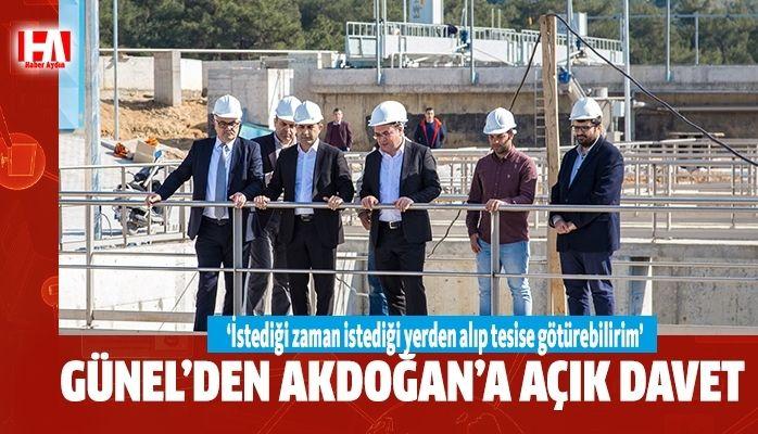 Günel'den Akdoğan'a açık davet