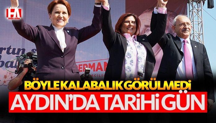 Aydın'da tarihi gün.. Aydın, Millet İttifakı dedi