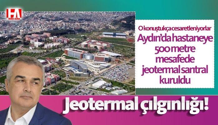 Hastanenin yanı başına jeotermal kuyu açıldı