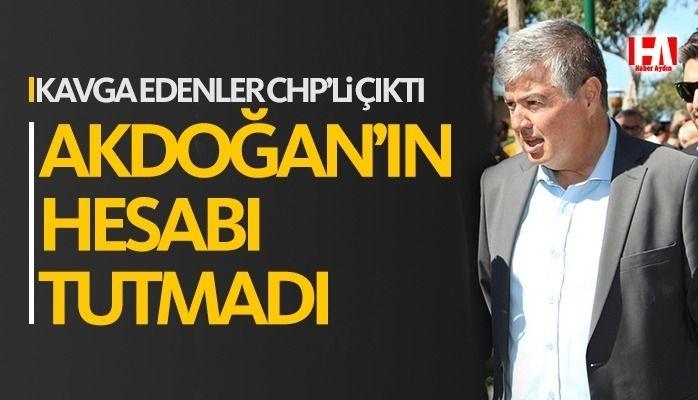 İki partili kavga etti, AKP'liler üzerine alındı