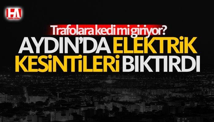 Aydın'da elektrik kesintileri can sıkıyor