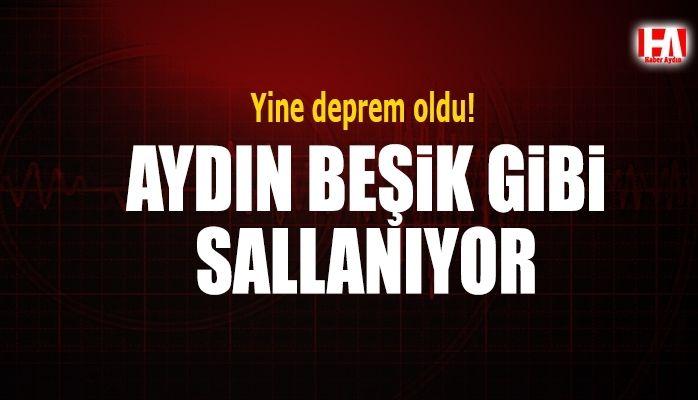 Aydın'da yine deprem oldu