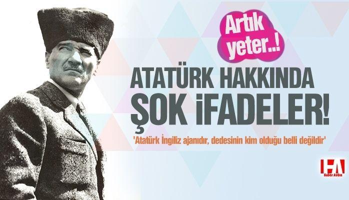 Öğretmen 'Atatürk İngiliz ajanıdır, dedesinin kim olduğu belli değildir' dedi