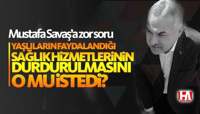 Mustafa Savaş'a zor soru