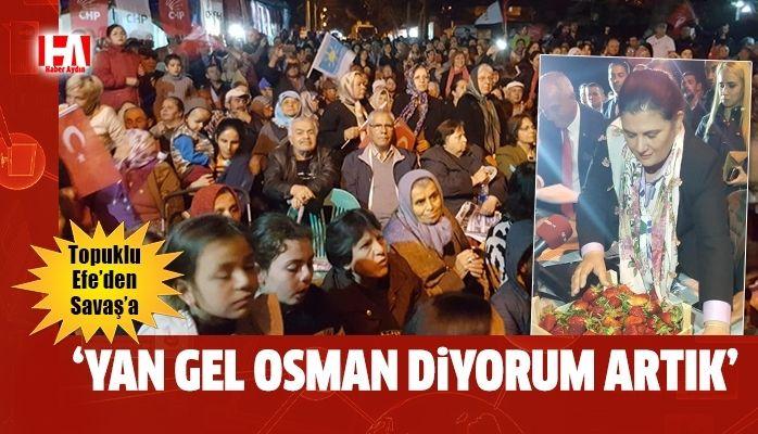 """Çerçioğlu Savaş'ı eleştirdi : """"Yan gel Osman habire yatıyor, hiçbir hizmetini göremedik"""""""