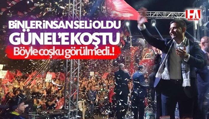 Kuşadası'nın yeni başkanı Ömer Günel.!