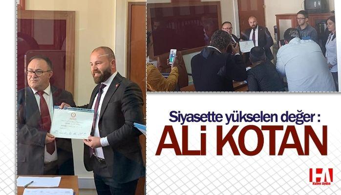 Siyasette yükselen değer : Ali Kotan