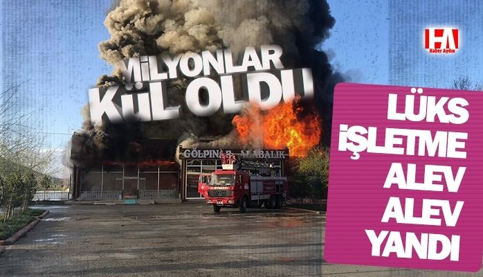 Alev alev yandı! Zarar 3 milyon lira!
