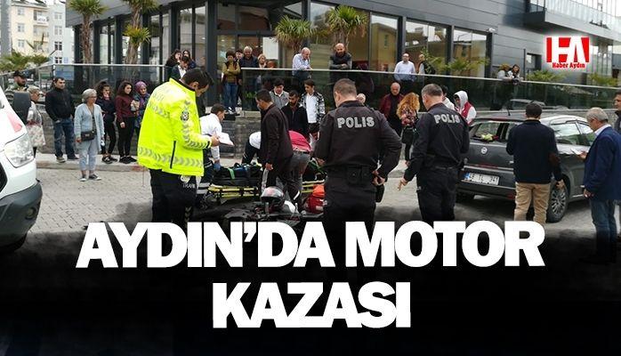Aydın'da motor kazası