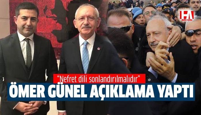 Ömer Günel Kılıçdaroğlu'na yapılan saldırıyı kınadı