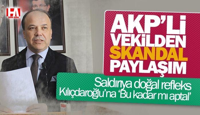 AKP'li Milletvekili Metin Yavuz'dan skandal paylaşım