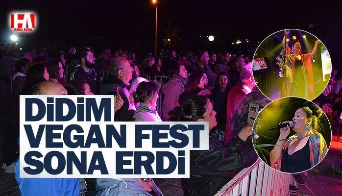 Didim'de Vegan Fest sona erdi