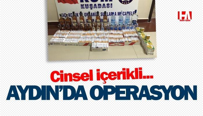 Aydın'da operasyon.. Cinsel içerikli hap…