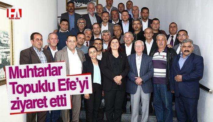 Muhtarlardan Başkan Çerçioğlu'na Ziyaret
