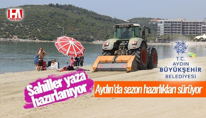 Aydın'da sezon hazırlıkları sürüyor