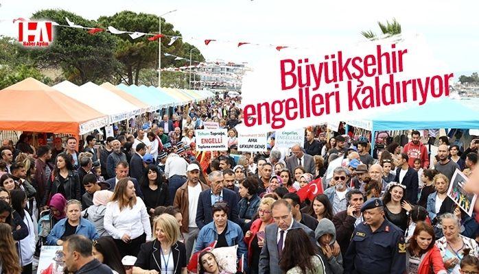 BÜYÜKŞEHİR ENGELLERİ KALDIRIYOR