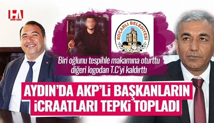 AKP'lilerin icraatları tepki topladı