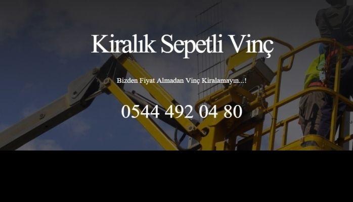 İstanbul'da Garantili Hizmet Sunan Sepetli Vinç Kiralama Firması