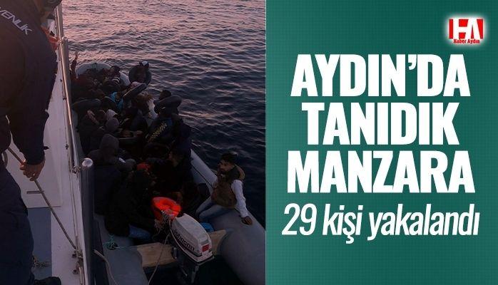 Aydın'da tanıdık manzara.. 29 kişi yakalandı