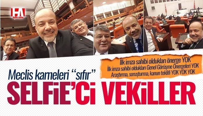 AKP'li vekillerin meclis karnesi 'sıfır'
