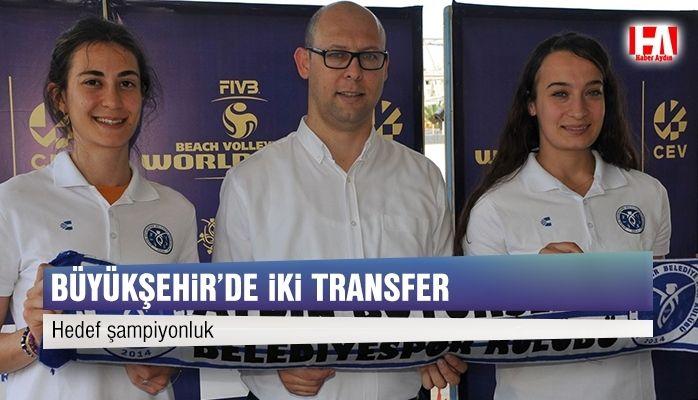 Büyükşehir'den iki transfer