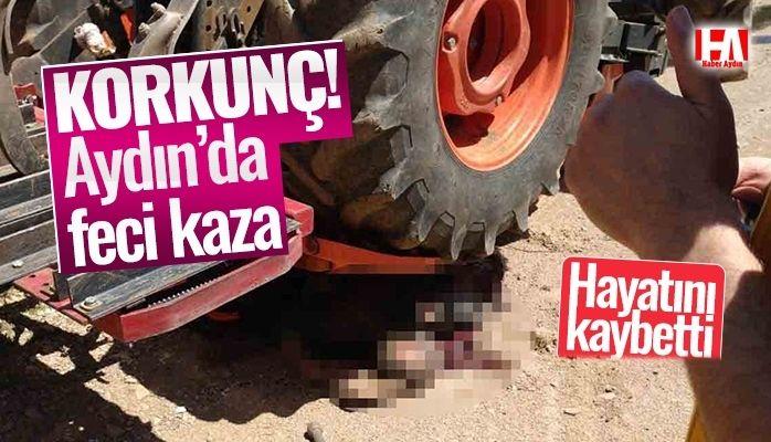 Aydın'da feci kaza.. Olay yerinde can verdi