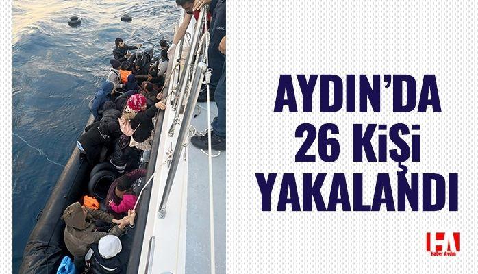 Aydın'da 26 kişi yakalandı