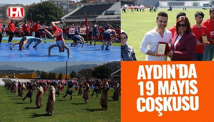 Aydın'da 19 Mayıs coşkusu